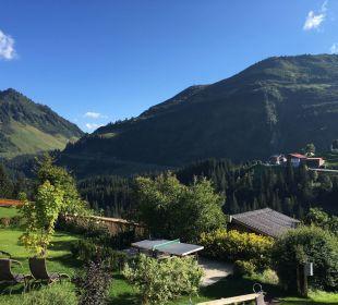 Ausblick Hotel Alpenblume