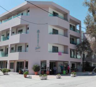 Außenansicht Hotel Corissia Beach