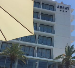 Außenansicht Hotel Abrat