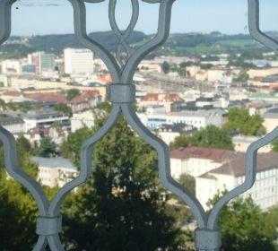 Ausblick aus unseren Zimmer Hotel Schloss Mönchstein