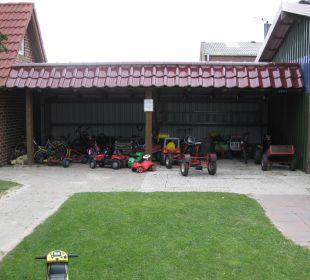 Der Fuhrpark Ferienhaus Wattkuckuck