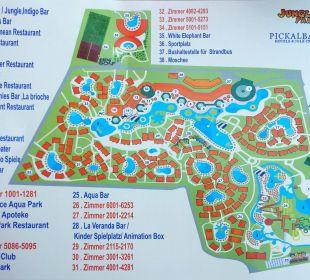 Lageplan Jungle Aqua Park