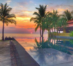 Abendstimmung Hotel Chong Fah Beach Resort
