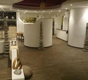 Der neue Saunabereich Parkhotel Frank