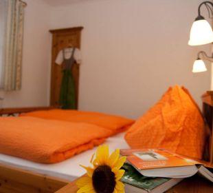 Schlafzimmer Ferienhof Leitengut