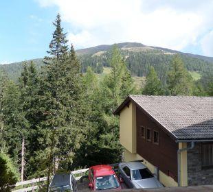 Blick vom Balkon Hotel Katschberghof