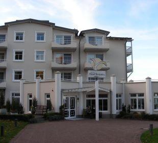 Haupthaus Hotel Bernstein Rügen