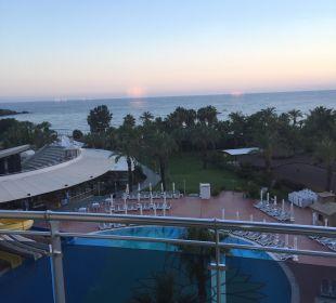 Aus dem Balkon Kirman Hotels Leodikya Resort