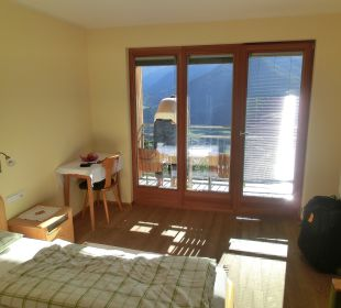 Doppelzimmer Ortler mit Loggia Pension Mairhof