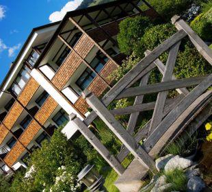 Gartenansicht Beauty & Wellness Resort Hotel Garberhof