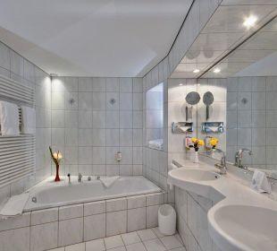Junior Suite Badezimmer Hotel Meerane