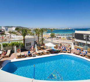 Terrasse und Meerblick Hotel Osiris