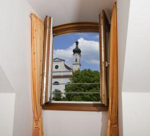 Ausblick  von einem Zimmer aus dem 3.Stock Hotel Angerbräu