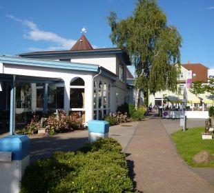 Weg zu den Gebäuden Best Western Hotel Hanse-Kogge