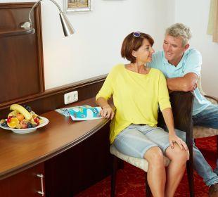 Gemütliche Sitzgelegenheit Hotel Mohren