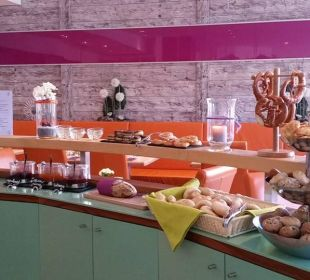 Brötchenauswahl Frühstück Hotel Arooma