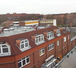 Ausblick zu Hinterhof Best Western Hotel Hamburg International