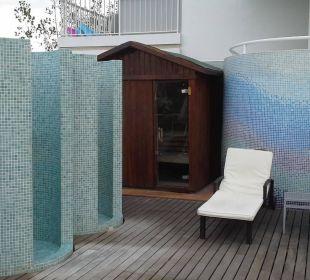 Saunahaus auf der Sonnenterrasse  JS Hotel Sol de Alcudia