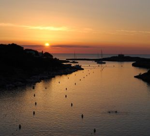 Der legendäre Sonnenuntergang.. Hotel Poseidon Bahia