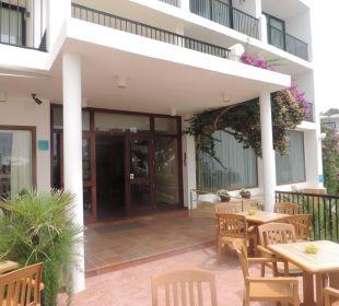 Eingangsbereich Hotel Osiris