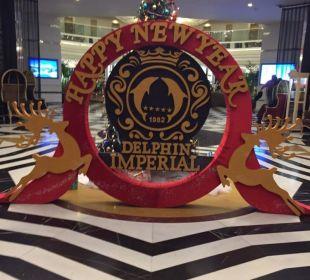 Lobby Weihnachten & Silvester Hotel Delphin Imperial