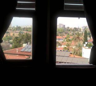 Blick aus unserem ZImmer. Aspen Hotel