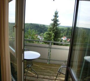 Kleiner Balkon Ringhotel Roggenland