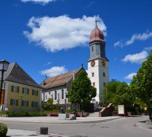 Katholische Kirche Zentrum Hotel Portens Fernblick