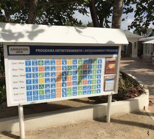 Tagesprogramm Grand Bahia Principe El Portillo