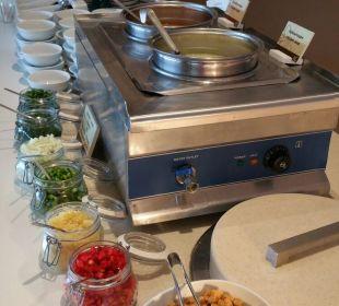 Täglich 2 Suppen im Angebot Hotel Corissia Beach