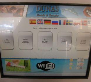 Ceny wifi Hotel Mirador Maspalomas Dunas