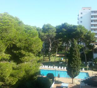 Ausblick vom Balkon Richtung RIU Appartments Pabisa Orlando