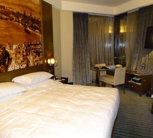 Zimmer mit Eckaussicht Hotel Harbour Grand Hong Kong