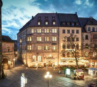 Außenansicht Hotel Victoria Nürnberg