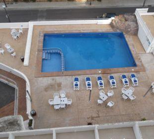 Poolanlage mit Gastroaußenbereich Hotel Palma Playa - Cactus