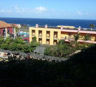 Blick vom Balkon Hotel Las Olas