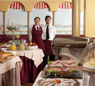 Breakfast Hotel Tritone Venice Mestre