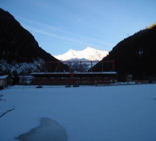 Blick in Richtung Gotthard Raststätte und Gotthard Motel Gottardo Sud