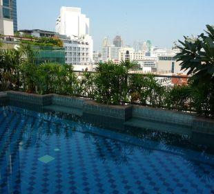 Oase auf dem Dachgarten Hotel Siam Heritage