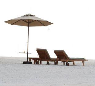 Unschlagbar: die Abgeschiedenheit Hotel Banyan Tree Madivaru