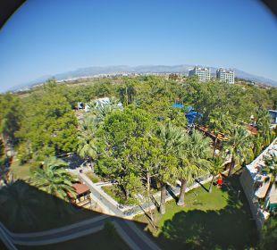 Ausblick aus Zimmer 534 Landseite Linda Resort Hotel