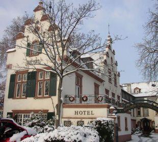 Kronenschlösschen im Winter Hotel Kronenschlösschen