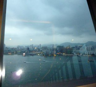 Blick vom Restaurant in der 41. Etage Hotel Harbour Grand Hong Kong