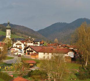 Balkonblick nach Süd-Ost Landhaus Franziskus