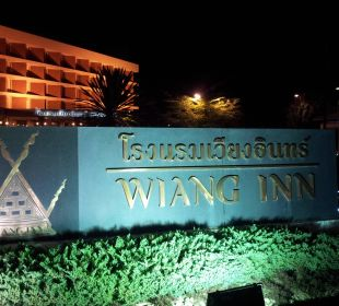 Eingang Hotel Wiang Inn