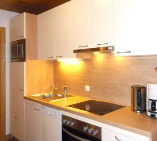 Küche im Vorraum Typ 3 Apartment Brandau