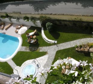 Außenpool Gartenhotel Völser Hof