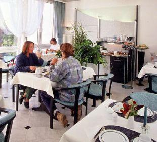 Frühstücksraum AltstadtHotel an der Werra