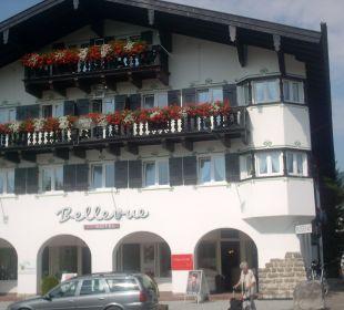 Nochmals eine Vorderansicht Hotel Bellevue