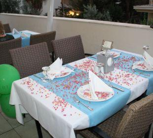 Unser Geburtstagstisch Hotel Narcia Resort Side
